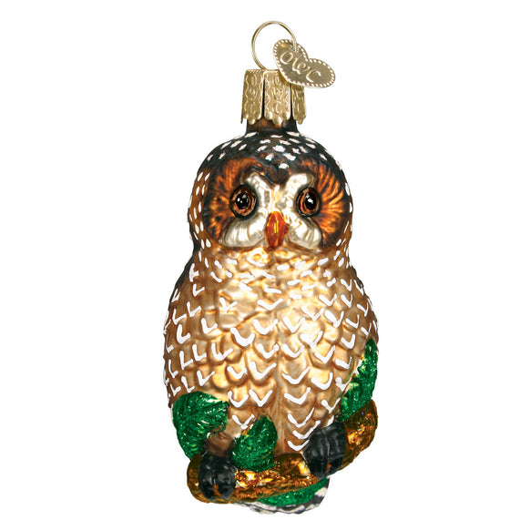 Spotted Owl Ornament for Christmas Tree