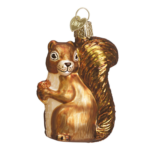 Squirrel Ornament for Christmas Tree