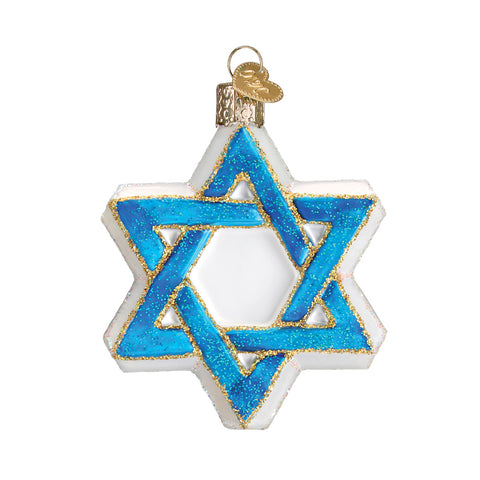 Star of David Ornament for Christmas Tree