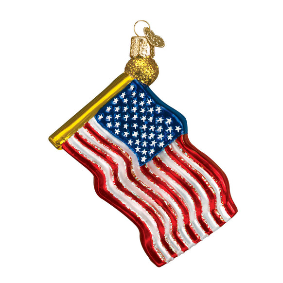 Star-Spangled Banner Ornament for Christmas Tree