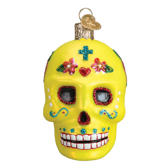 Sugar Skull Ornament for Christmas Tree