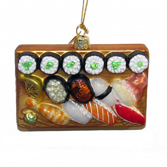 Sushi Platter Ornament for Christmas Tree