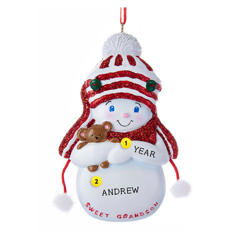 Personalized Family Member Ornaments  Callisters Christmas