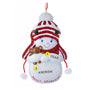 Sweet Grandson Snowboy Ornament for Christmas Tree