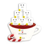 Hot Cocoa Family of 6 Table Top Decoration