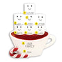 Hot Cocoa Family of 7 Table Top Decoration