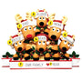 Reindeer Family of 6 Table Top Decoration