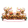Reindeer Family of 9 Table Top Decoration