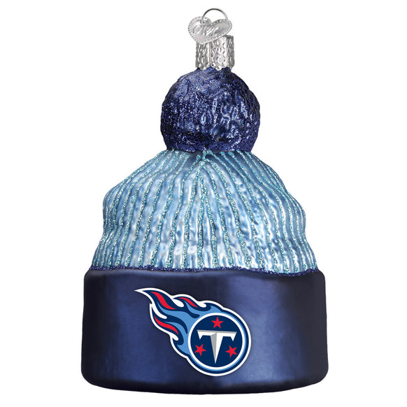 Tennessee Titans Beanie Ornament for Christmas Tree