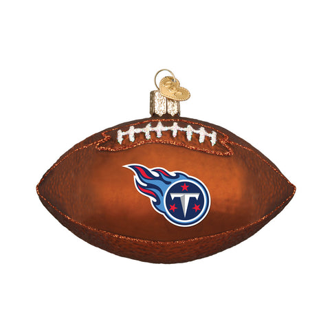 Tennessee Titans Football Ornament for Christmas Tree