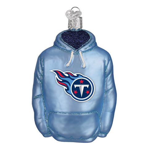 Tennessee Titans Hoodie Ornament for Christmas Tree