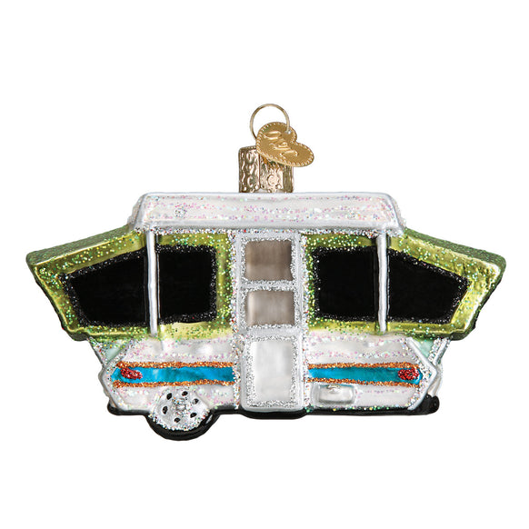 Tent Camper Ornament for Christmas Tree