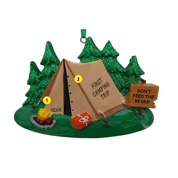Tent Ornament for Christmas Tree