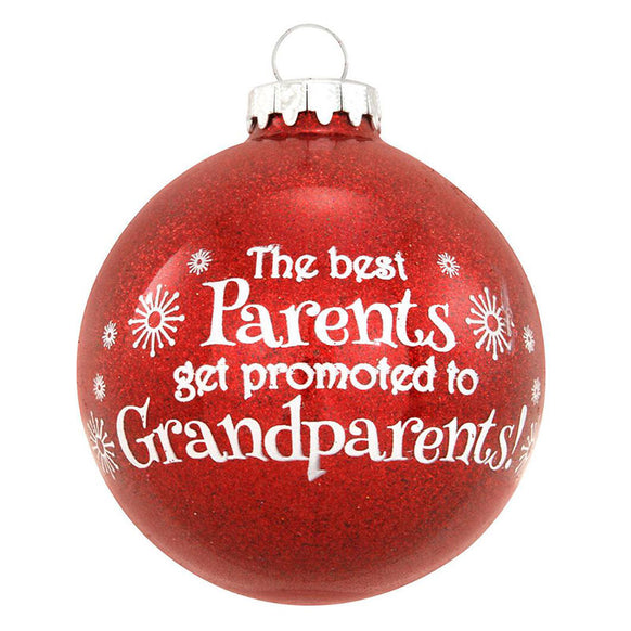 """""""The Best Parents Get Promoted... Ornament 
