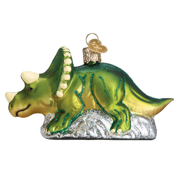 Triceratops Ornament for Christmas Tree