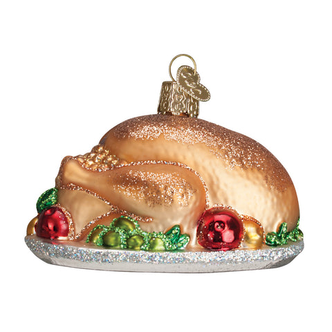 Turkey Platter Ornament for Christmas Tree