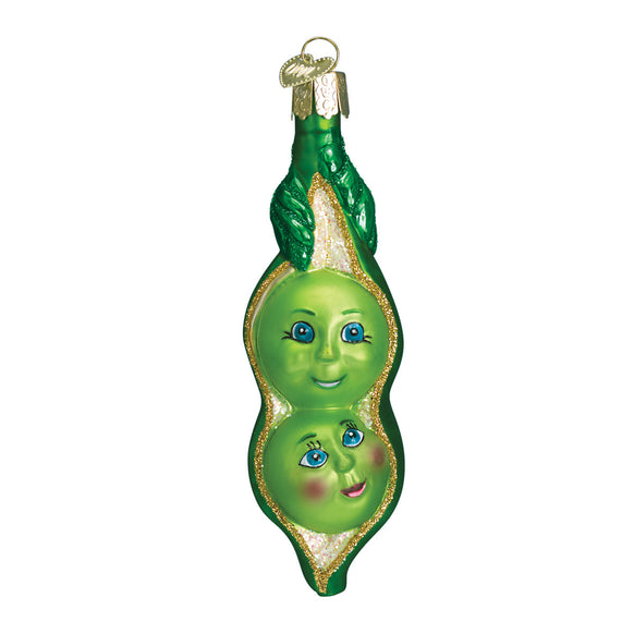 Two Peas In A Pod Ornament for Christmas Tree