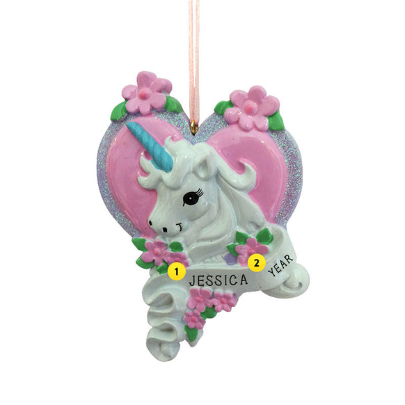 Unicorn Ornament for Christmas Tree