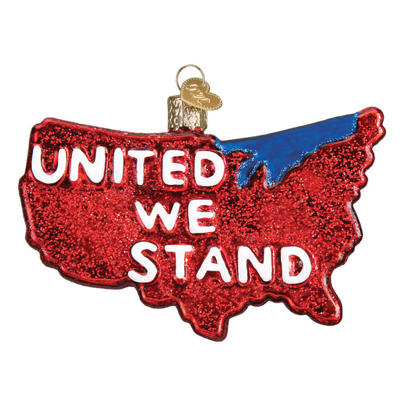 United We Stand Ornament for Christmas Tree