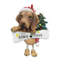 Viszla Dog Ornament for Christmas Tree