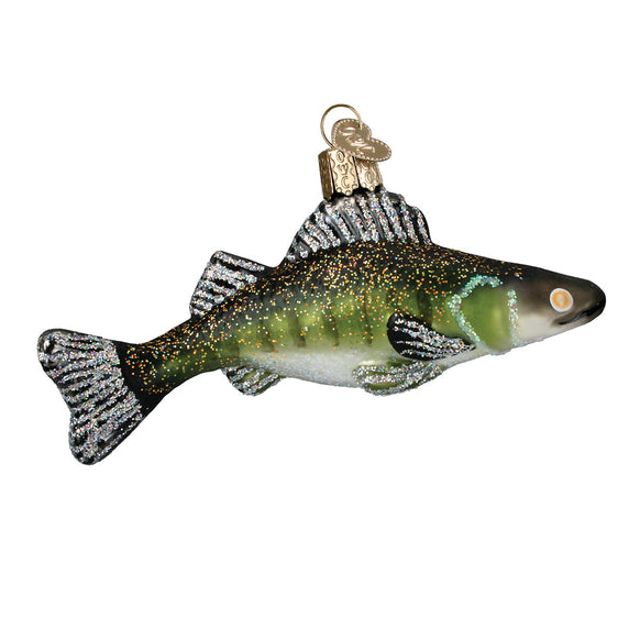 Walleye Ornament for Christmas Tree