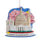 Washington D.C. Scene Ornament