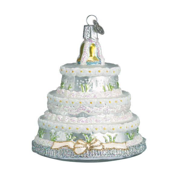 Wedding Cake Ornament for Christmas Tree
