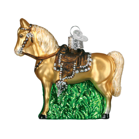Western Horse Ornament for Christmas Tree