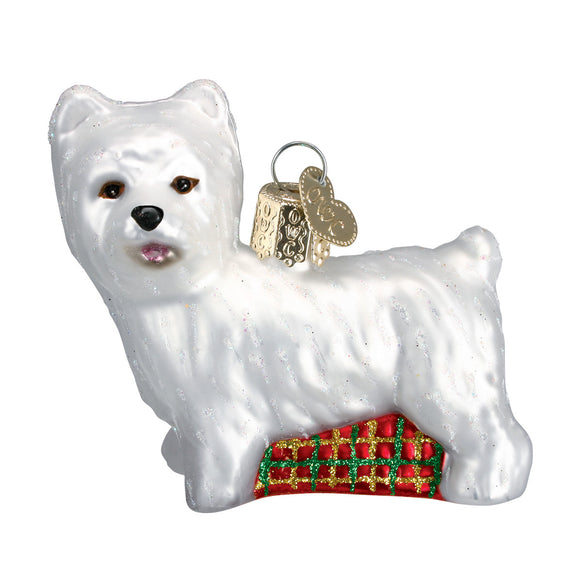 Westie Ornament for Christmas Tree
