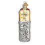 Burrito wrapped in Foil Glass Old World Christmas Ornament