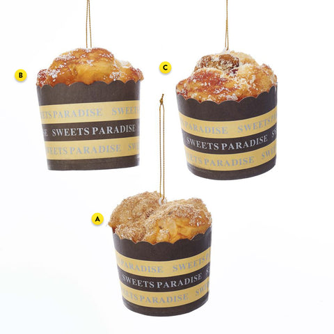 Muffin Cup Christmas Tree Ornament