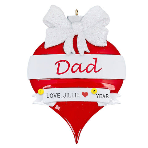 Dad Personalized Ornament