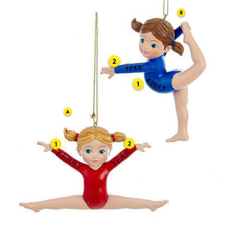 Gymnast Ornament 2 Assorted Please Choose One