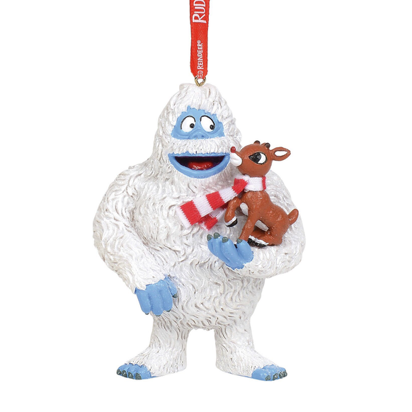 Bumble with Rudolph Christmas Ornament