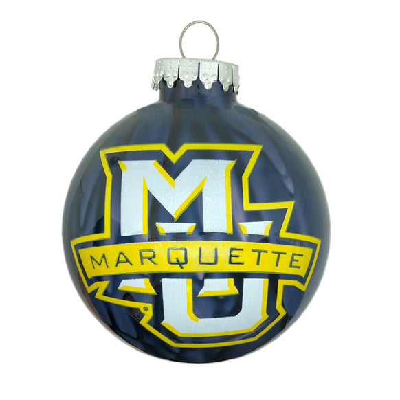 Marquette University Christmas Ornament Personalized