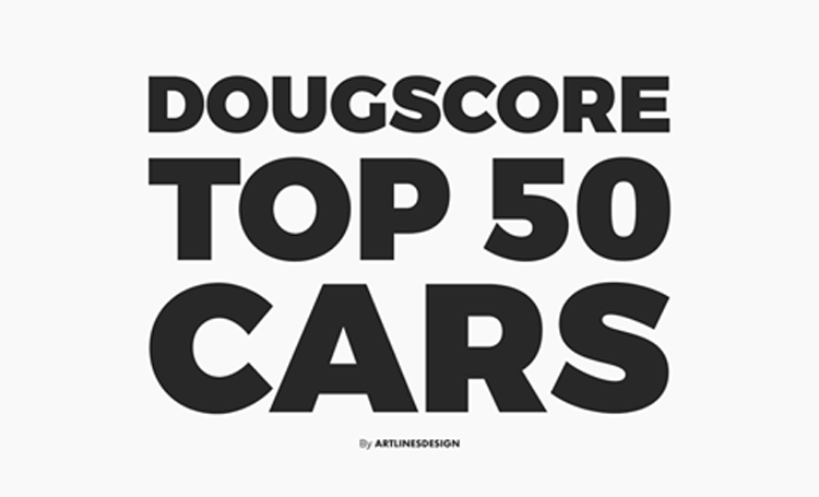 THIS is the DougScore top 50