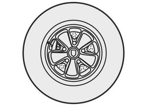 NEW: Car wheel T-shirts