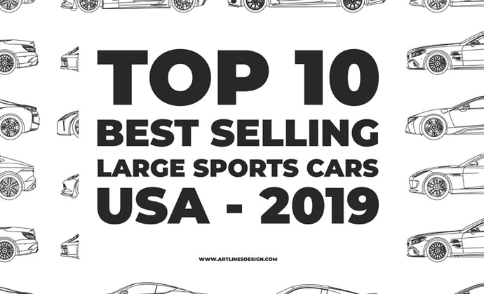 Top 10 Best Selling Large Sports Cars