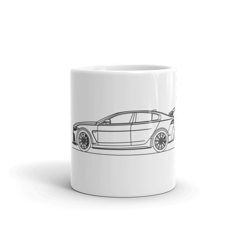 Jaguar XE SV Project 8 Mug