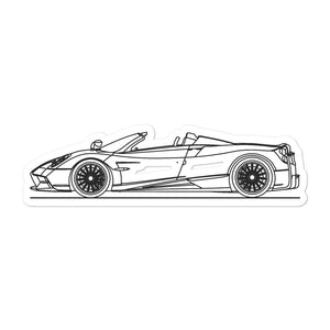 Pagani Huayra BC Roadster Sticker