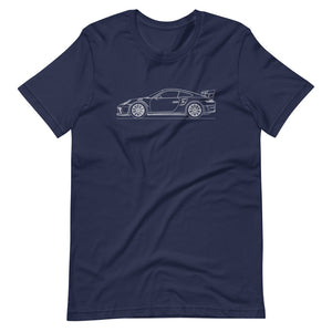 Porsche 911 991.2 GT3 RS T-shirt Navy