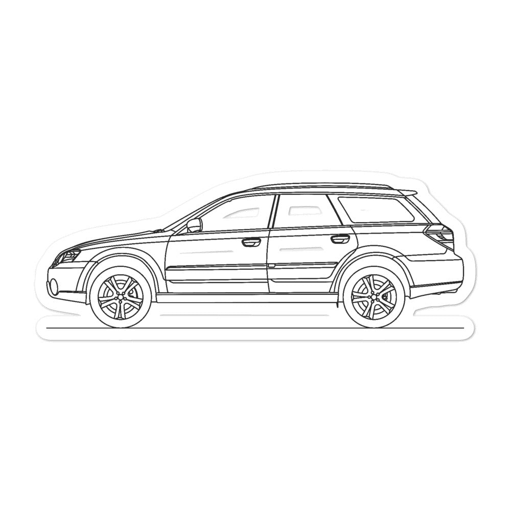 Subaru Outback BP Sticker