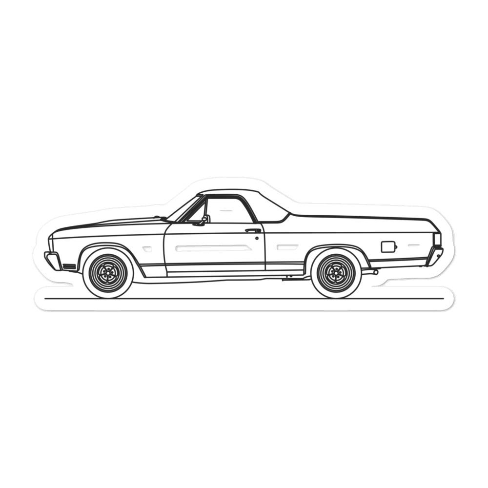 Chevrolet El Camino SS Sticker - Artlines Design