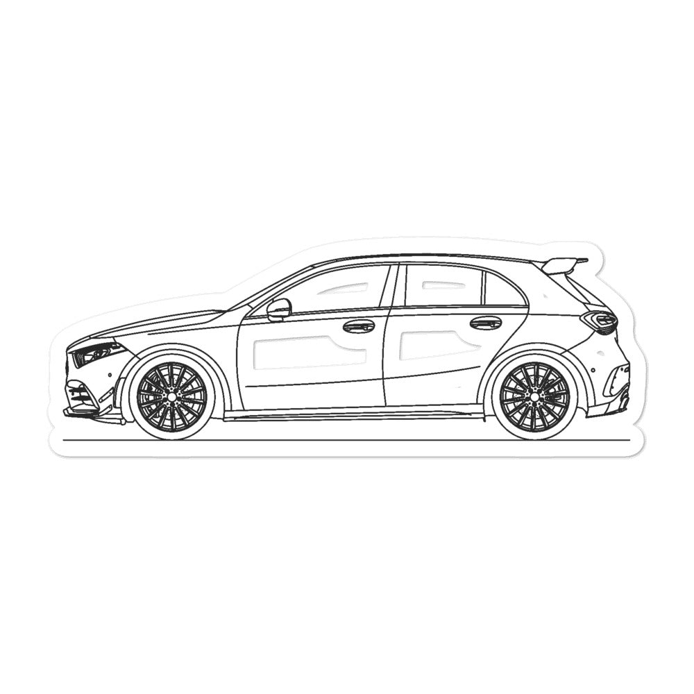 Mercedes-AMG A 35 W177 Sticker