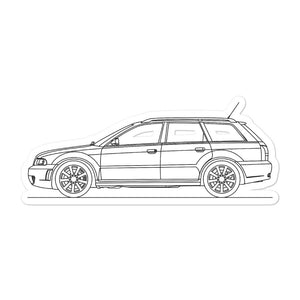 Audi B5 RS4 Avant Sticker