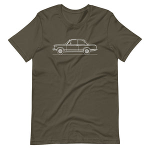 BMW 2002 T-shirt Army - Artlines Design