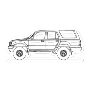Toyota 4Runner N130 Sticker