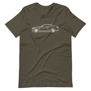 BMW G82 M4 T-shirt Army - Artlines Design