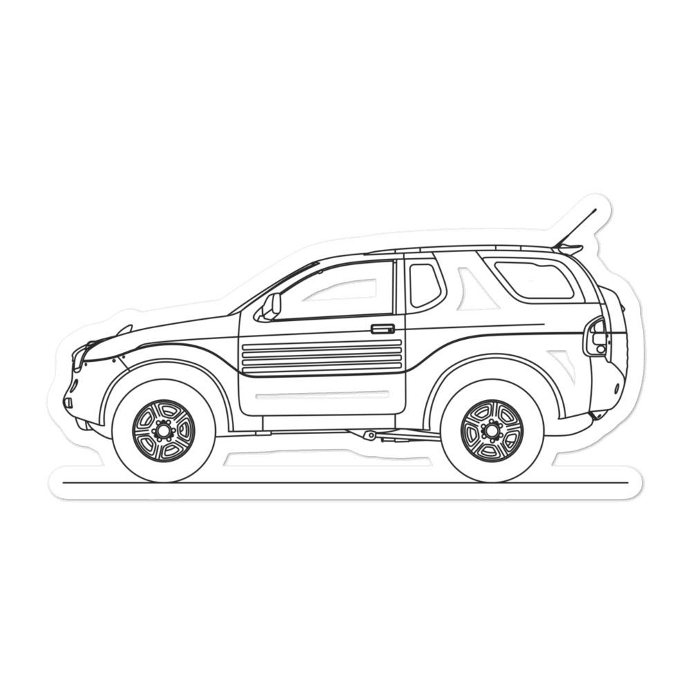 Isuzu VehiCROSS Sticker - Artlines Design
