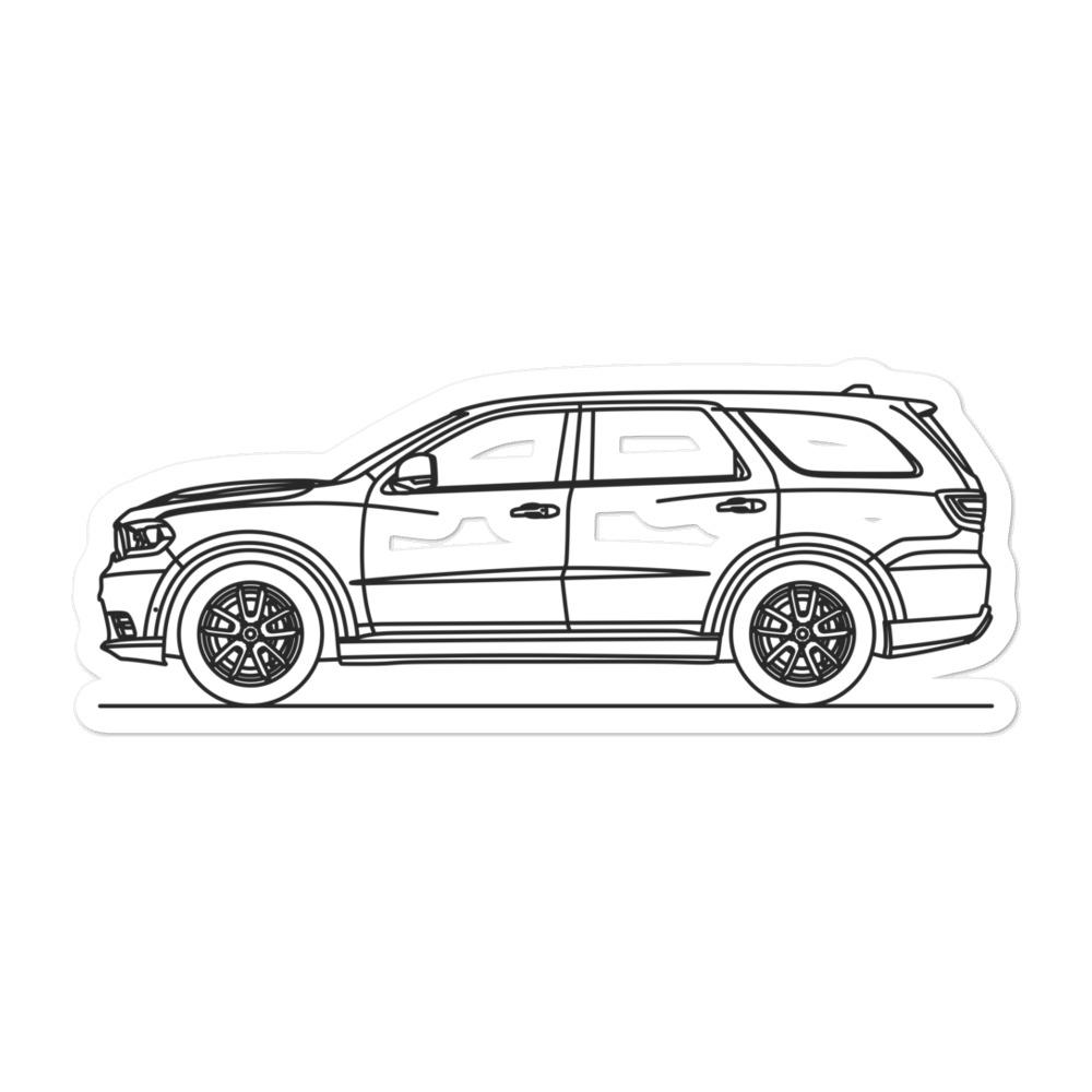Dodge Durango III SRT Sticker - Artlines Design